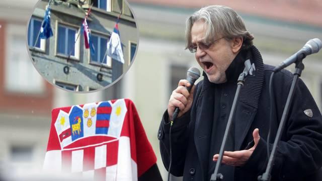 Alić na prosvjedu dubrovačku zastavu proglasio je srpskom