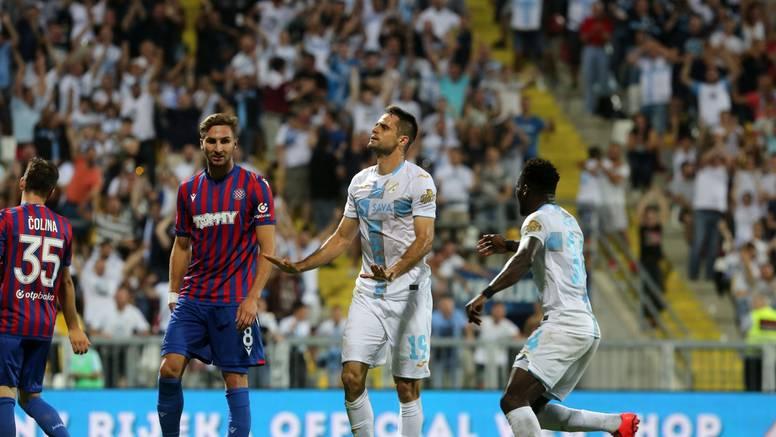Franko zabio  golčinu i zatresao prečku, Teklić spasio Hajduk