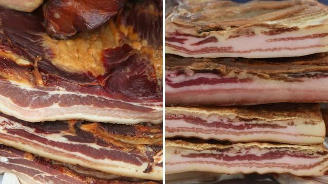 Znate li razliku između pancete i špeka? Hrvati jedu četiri vrste