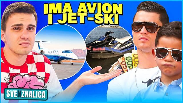 'Siroti' mali bogataš: Sin (10) Cristiana Ronalda ima avion i gigantski bazen unutar kuće