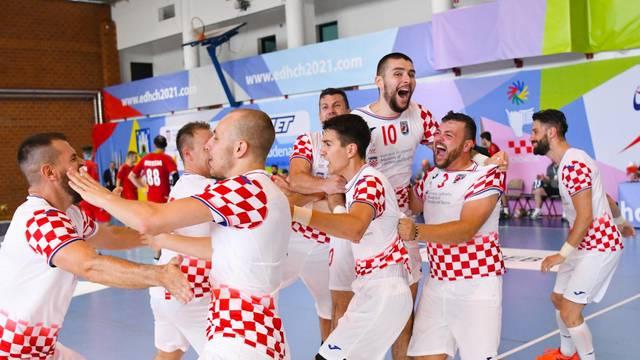 Zagreb: Hrvatska rukometna reprezentacija gluhih u borbi za zlato