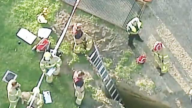 Grobar je upao u grob i slomio nogu: 'Izvlačili smo ga 2 sata'