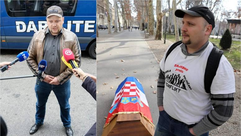 Čovjek koji je svojedobno nosio lijes gradom želi na Pantovčak