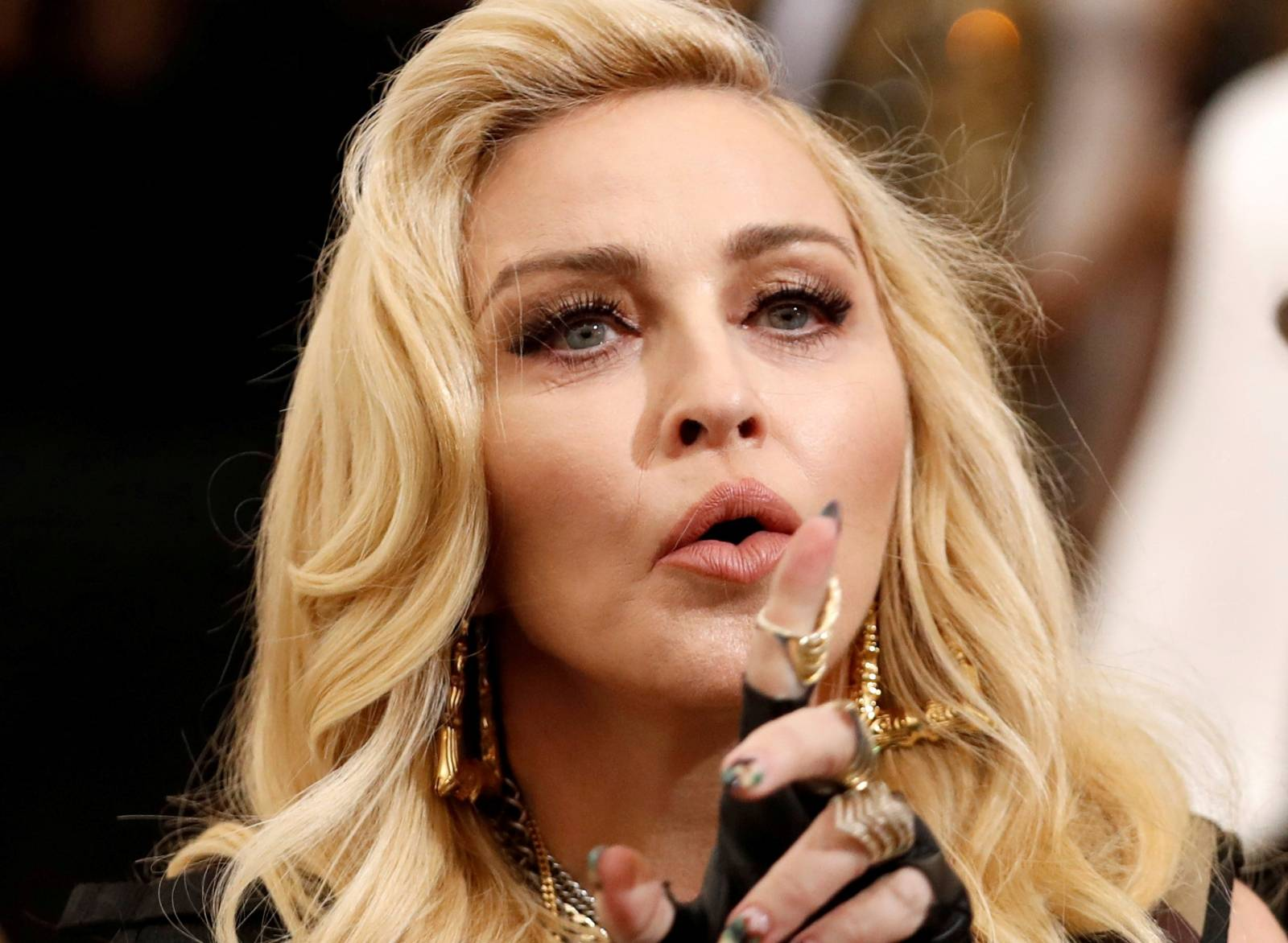 FILE PHOTO: FILE PHOTO: Singer Madonna arrives at the Metropolitan Museum of Art's Gala, Rei Kawakubo/Comme des Garcons: Art of the In-Between in New York City
