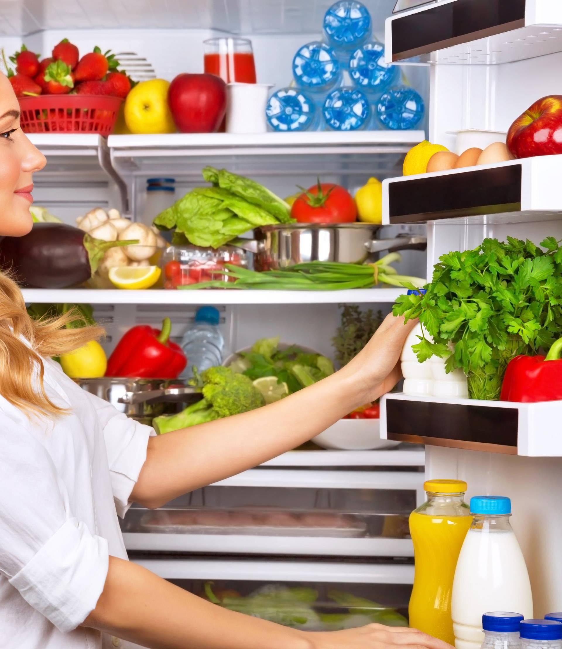Jaja u hladnjak idu na najnižu policu, u vratima se brže kvare