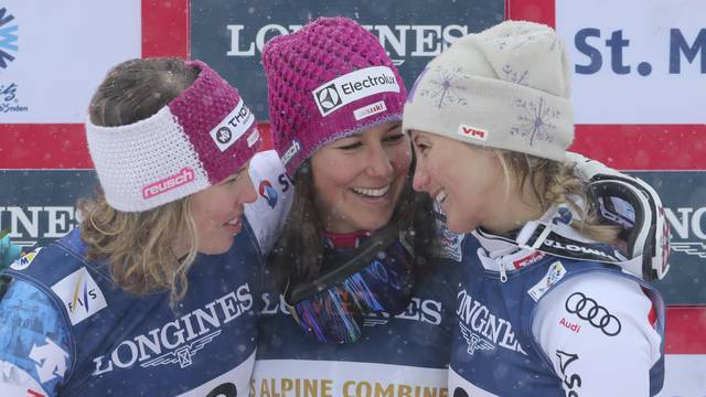 Alpine Skiing - FIS Alpine Skiing World Championships St. Moritz - Women's Alpine Combined