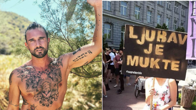 Luka Nižetić na Instagramu podijelio fotku sa zagrebačkog Pridea: 'Ljubav je mukte'