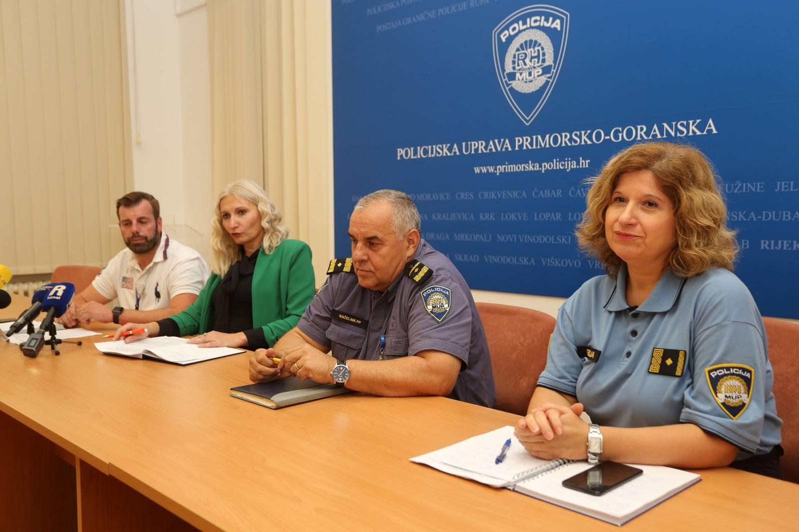 Rijeka: Konferencija za medije o rezultatima krim istraživanja kaznenih djela razbojništva