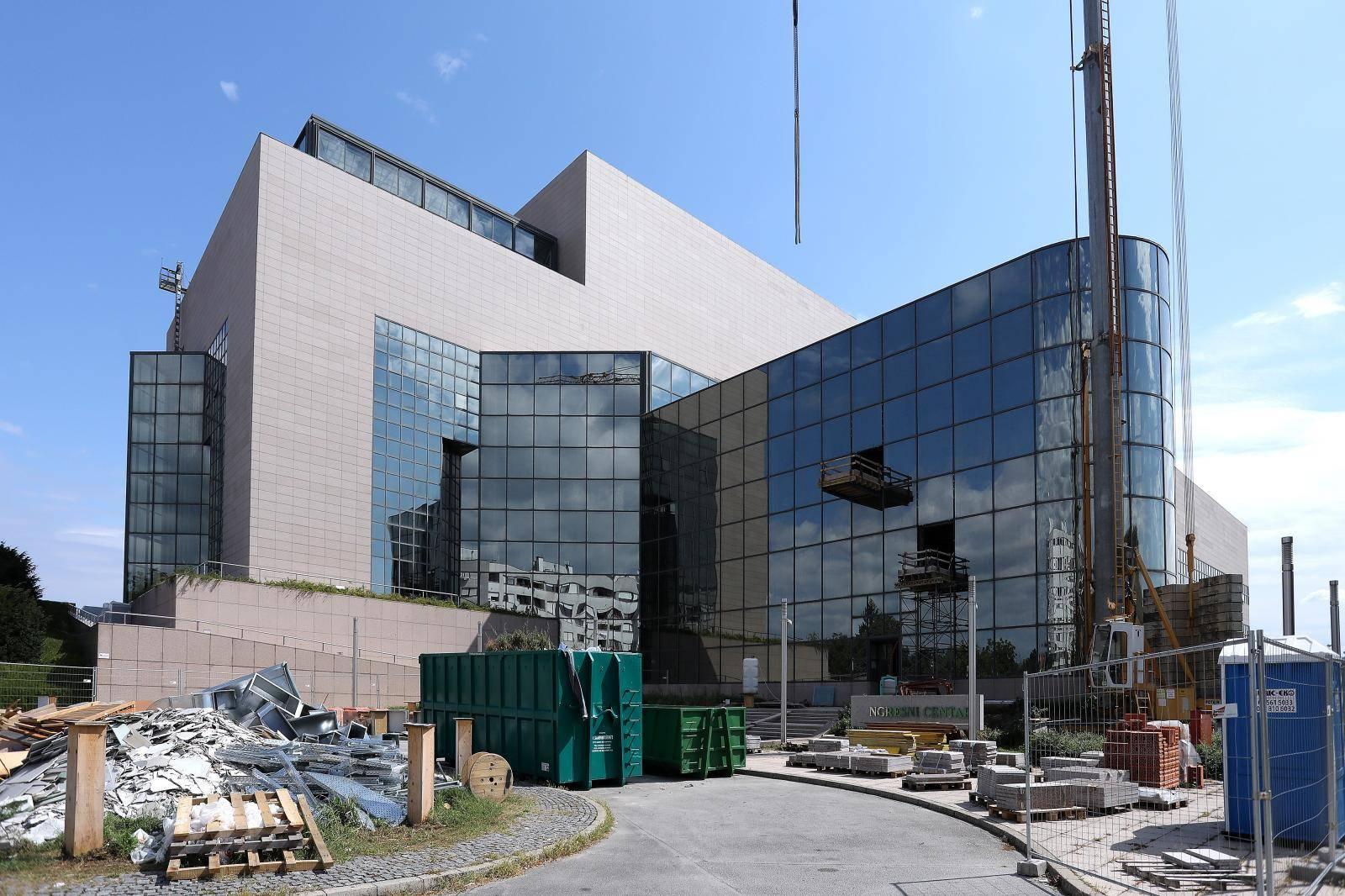 Zagreb: Radovi na uređenju Kongresnog centra NSK