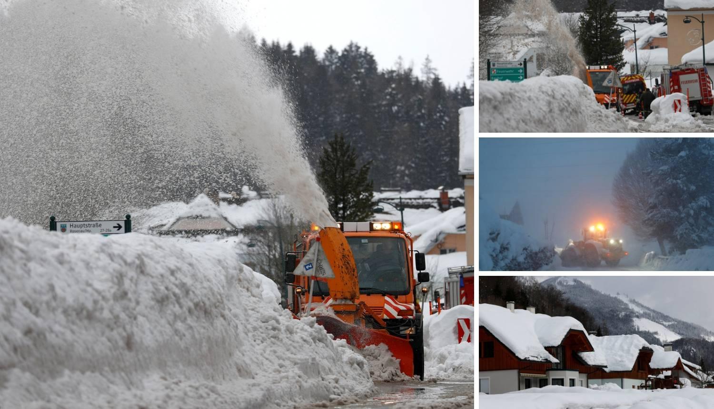 Palo je sedam metara snijega! 'Ovo je jednom u 100 godina...'