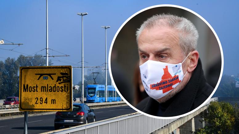 Zagreb nabavlja rasvjetu za most. Natječaj od 21,9 mil. kuna raspisali dan nakon potresa