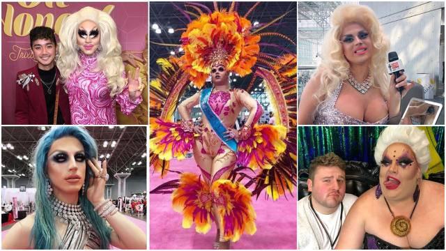 Perje, šljokice, štikle: U SAD-u glamurozan party muškaraca