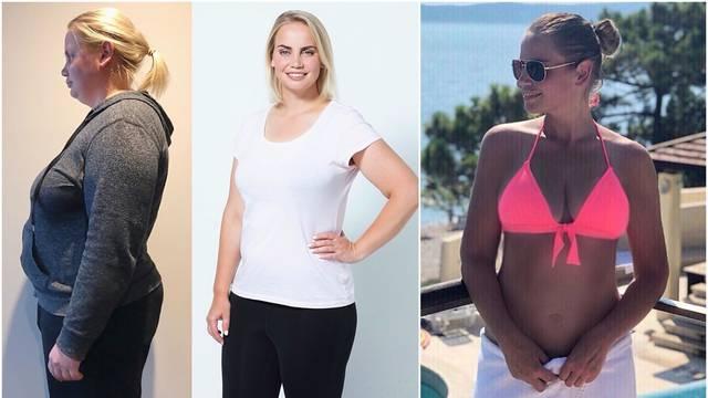 Zbog depresije se udebljala čak 60 kila pa drastično smršavila