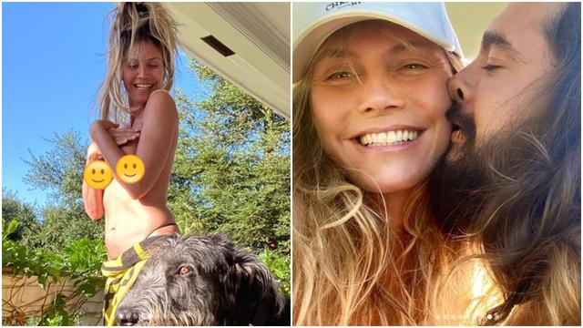 Heidi Klum pozirala u toplesu: 'Imaš toliko godina. Sramota'