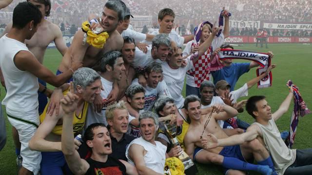Zadnji Hajdukov naslov: Davao sam svoj novac za plaće igrača