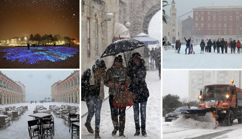 Danas se kuhate, prije 8 godina snijeg zatrpao cijelu Dalmaciju
