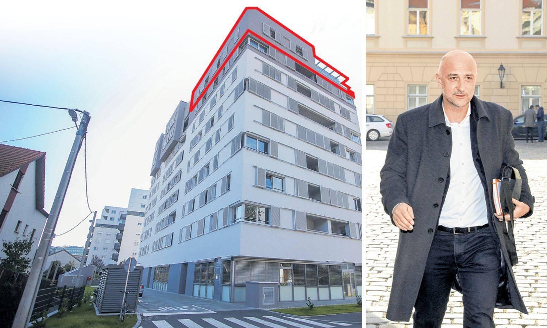 Vrdoljak si kupio penthouse: 'Platio sam ga 2,4 milijuna kn'
