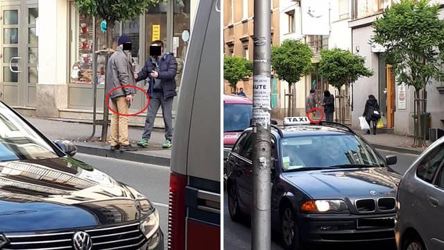 Nekoliko ljudi tuklo se nasred ulice: Muškarcu je ispao pištolj