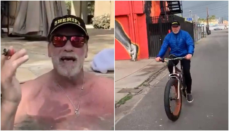 Arnie uživa u izolaciji: 'Izlazim samo na biciklu i nema selfieja'