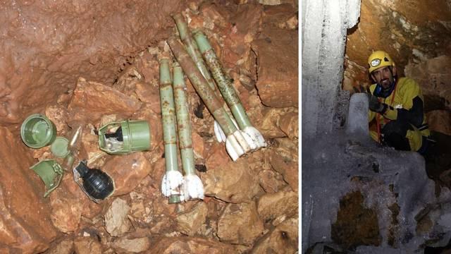 Policajci speleolozi: U 50 jama smo našli bombe, mine i zolje