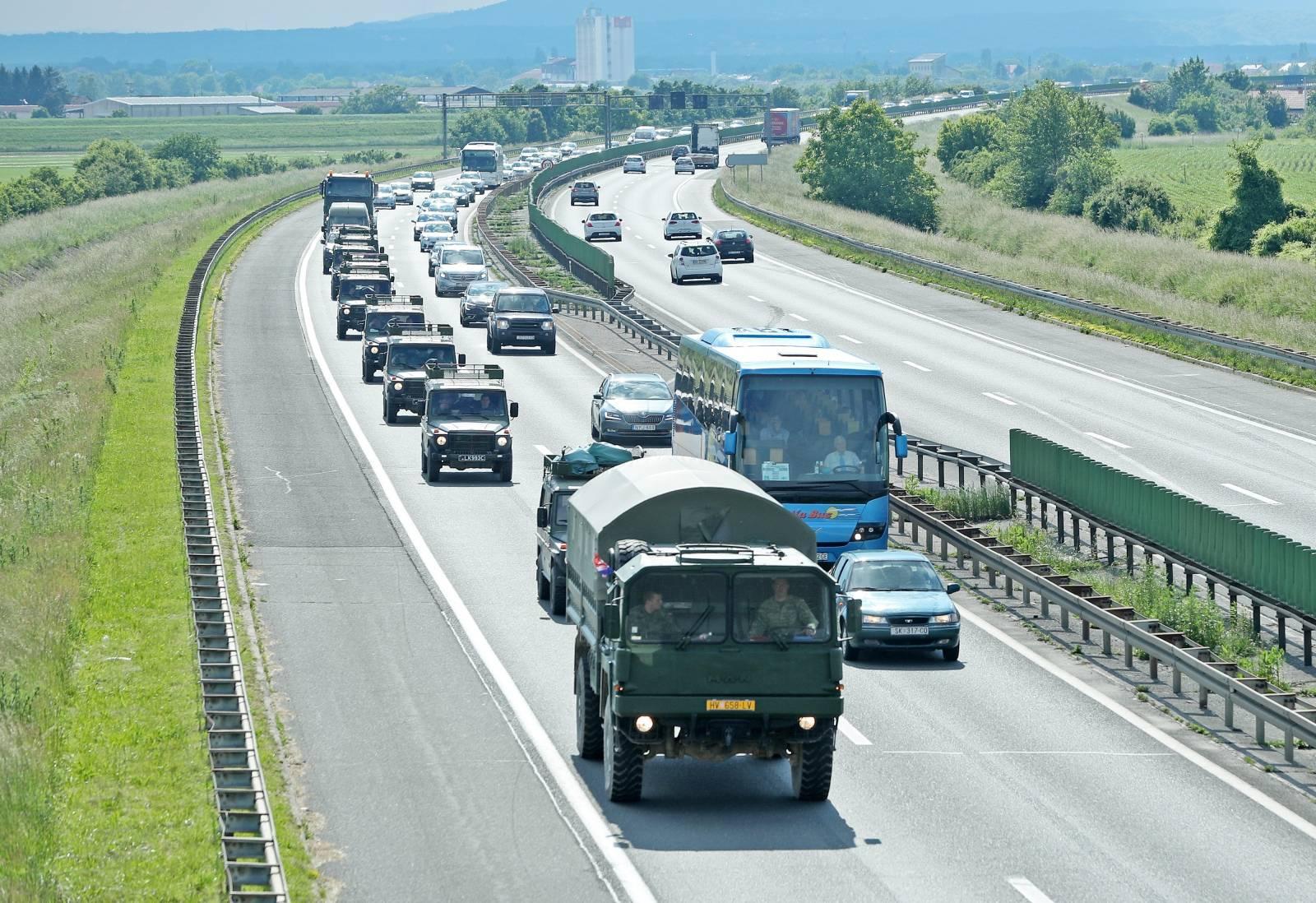 Zagreb: Izmještanje Multinacionalne bojne kopnom iz RH prema Mađarskoj