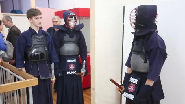 Mistično umijeće mačevanja: Japanski borci poharali Zagreb