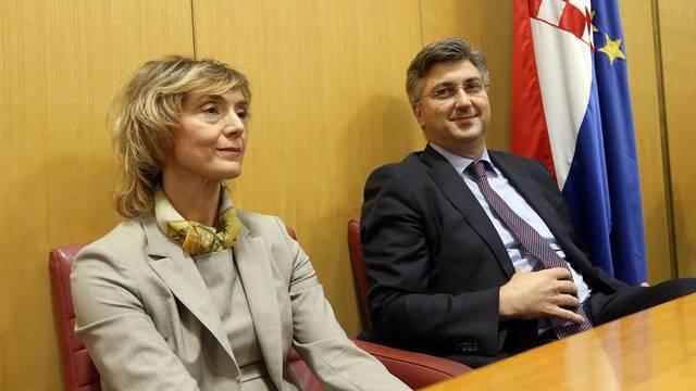 Plenković o Pejčinović Burić: Neizvjesno je, učinili smo sve