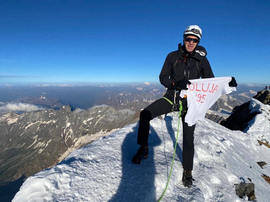 Kotromanović osvojio 'groblje planinara' u čast i slavu Oluje