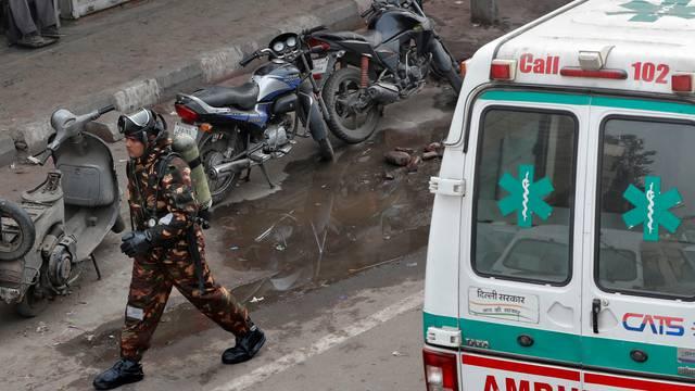 U Indiji najmanje 12 mrtvih u eksploziji u skladištu kemikalija