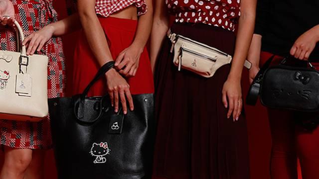 Stilska ikona Hello Kitty sada krasi novu liniju kožnatih torbi