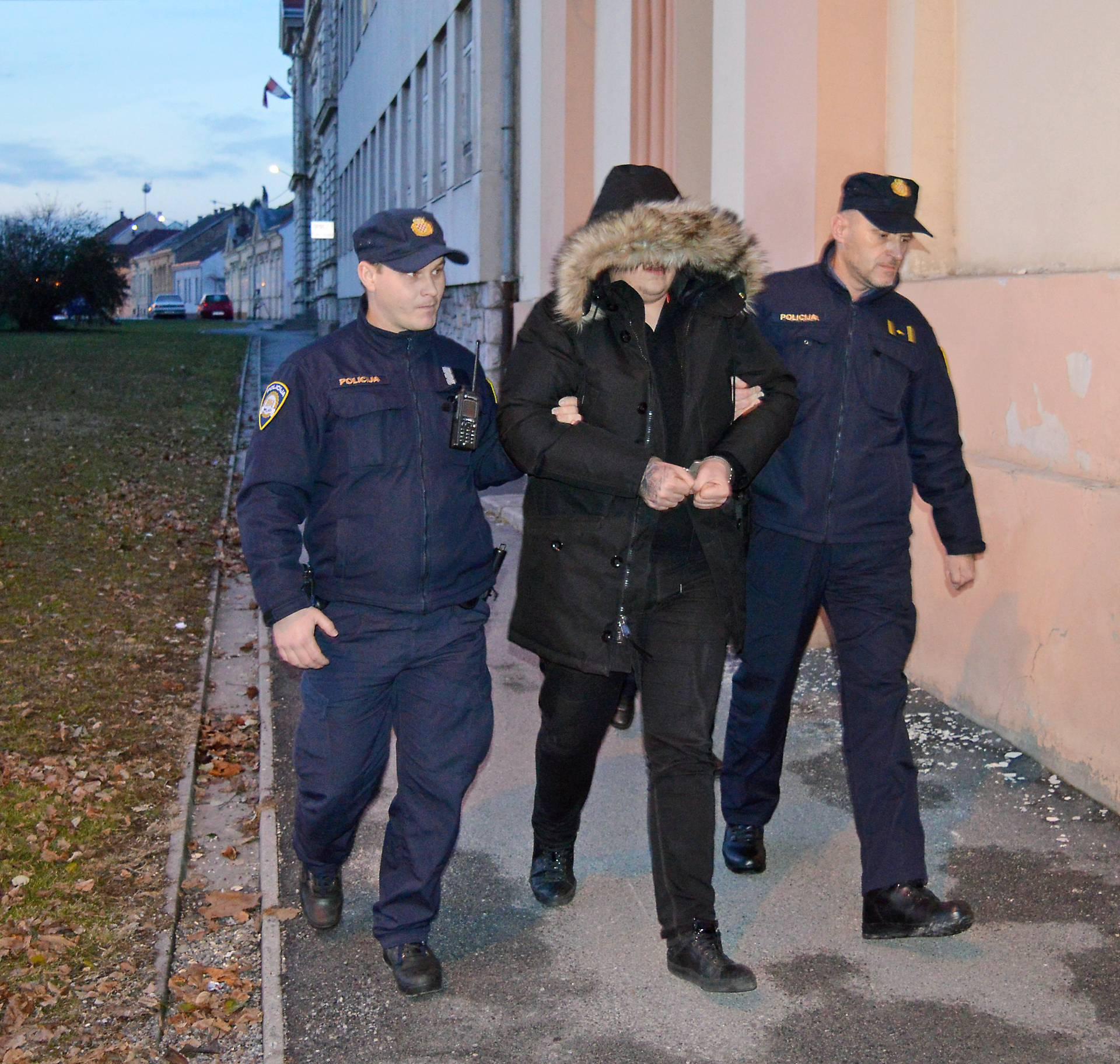 Ivan Ðakiæ priveden na Županijski sud u Bjelovaru