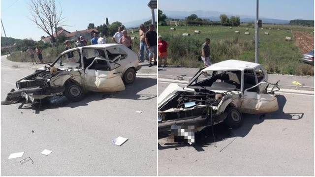 Mladić (16) sam vozio auto pa skrivio nesreću: Teže ozlijeđen