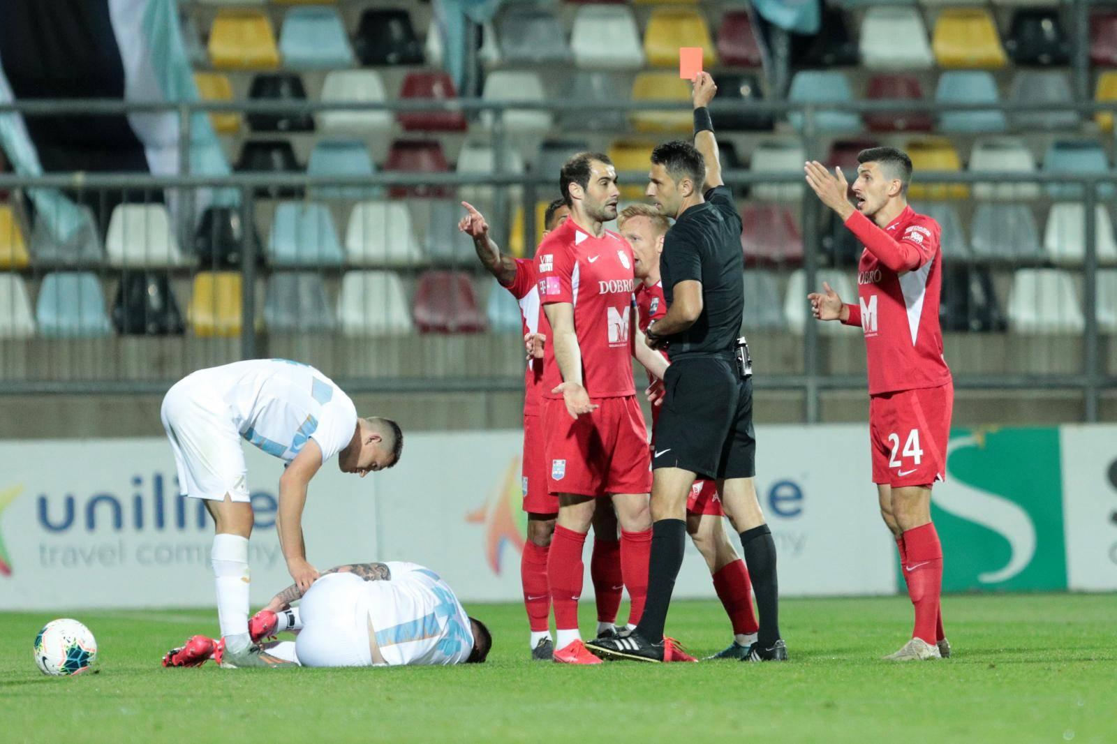 Drugi polufinalni susret Hrvatskog kupa između HNK Rijeka i NK Osijek