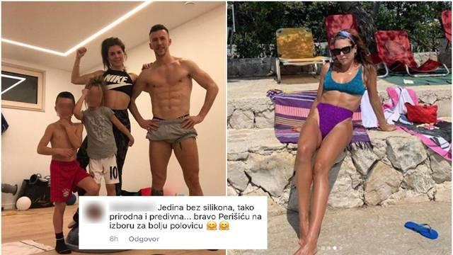 'Bravo Perišiću na izboru bolje polovice, jedina bez silikona...'