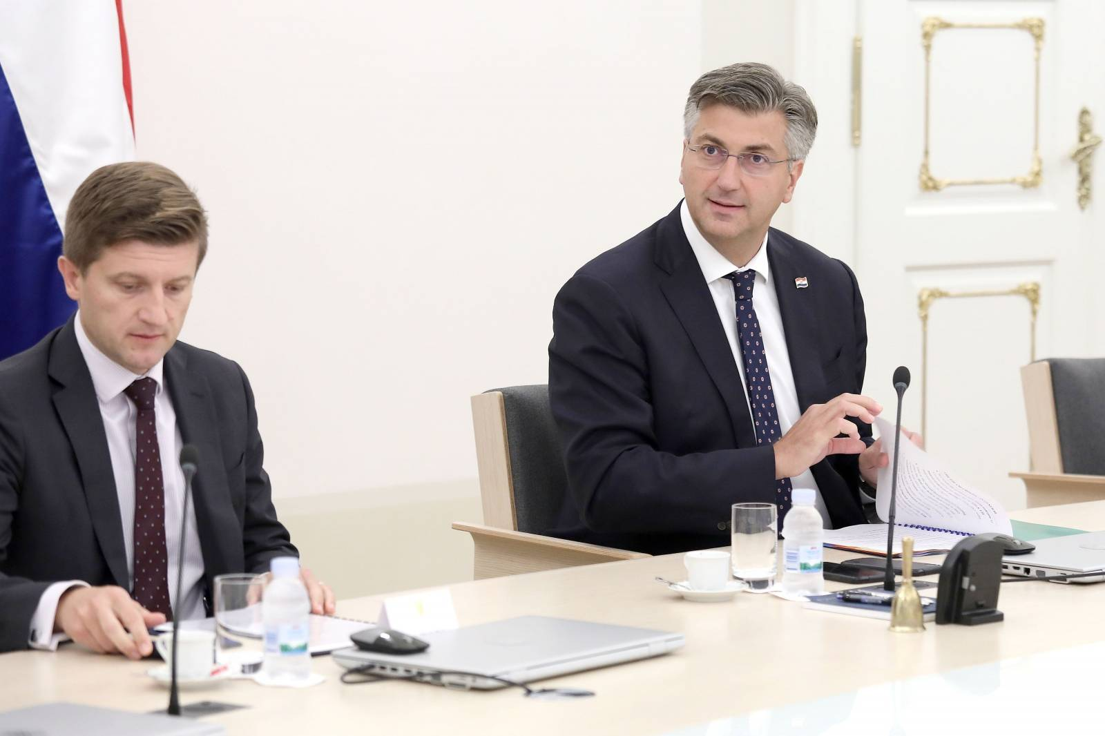 Zagreb: Andrej Plenković ugostio predsjednika Europske investicijske banke