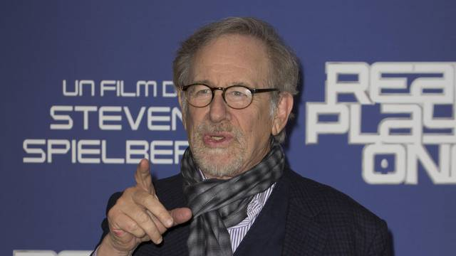 Steven Spielberg At Ready Player One Photocall - Rome