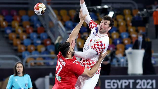 Kairo: Svjetsko prvenstvo u rukometu, Hrvatska - Bahrein