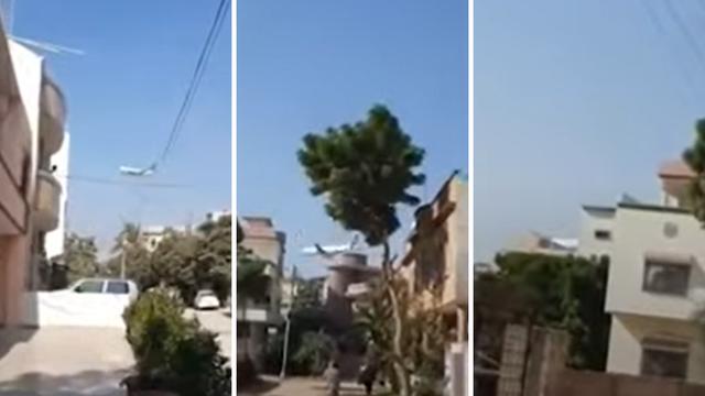 Pogledajte video: Snimka palog aviona netom prije tragedije...