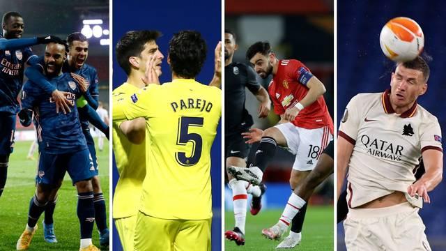 Poznati polufinalisti: Roma i United, Emery na bivši klub