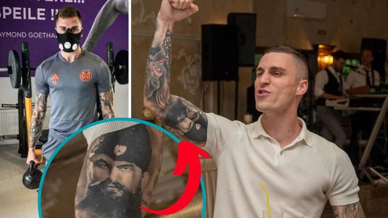Uefa Vranješu: Prekrij tetovažu četničkog vođe ili nećeš igrati!