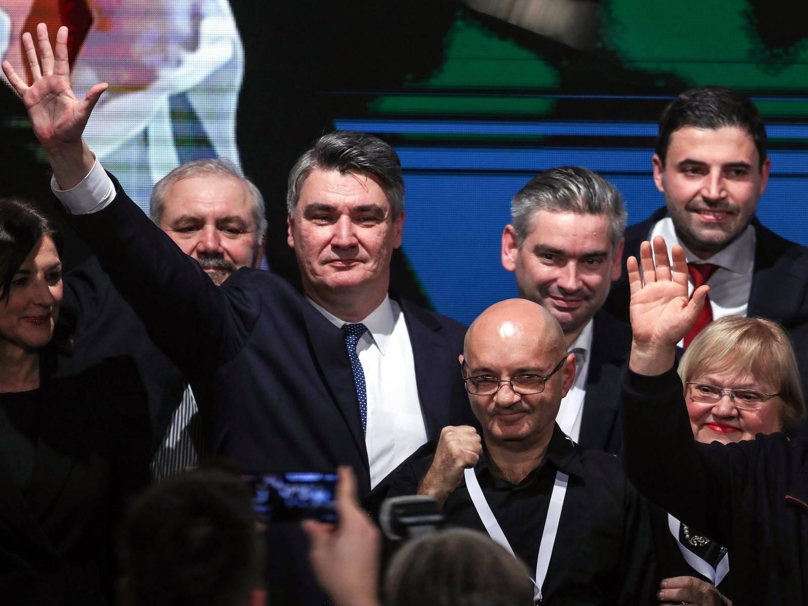 Zagreb: Zoran Milanović obratio se nakon objave prvih neslužnenih rezultata