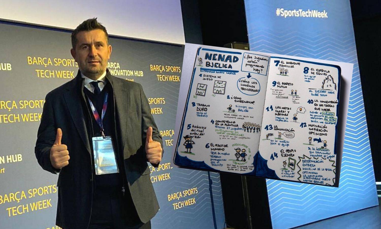 Bjelica otkrio recept za uspjeh: Održao seminar na Camp Nouu