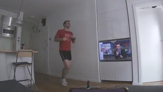 Ivan (41) istrčao maraton u stanu za manje od šest sati...