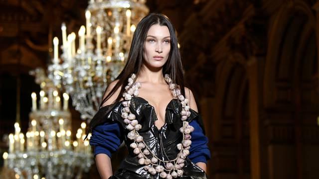 Vivienne Westwood collection show at Paris Fashion Week