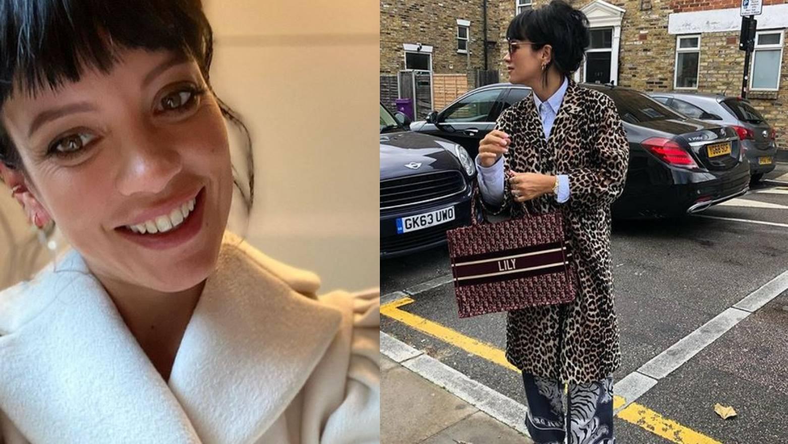 Lily Allen ima omiljene kapute - animal print i jednostavan bež