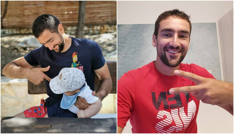Čilić nakon samoizolacije opet sa sinom: 'Sad ga mogu maziti'