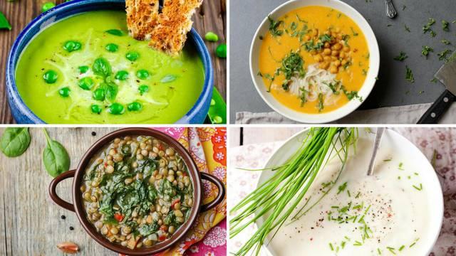 Recepti za fine juhe od povrća: Uz njih proljetni umor nestaje