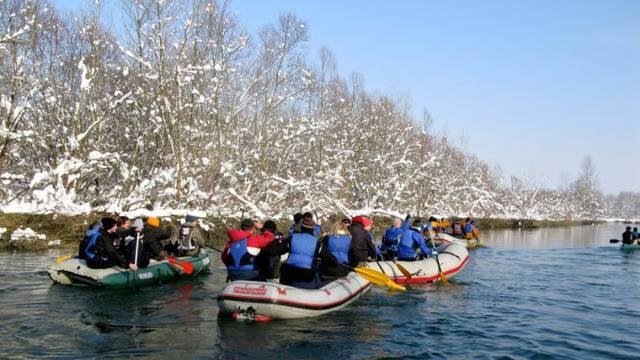 Dođite na X. Zimski spust rijekom Dravom