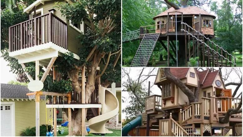 Biste li voljeli živjeti u jednoj? Pet najslađih kućica na drveću