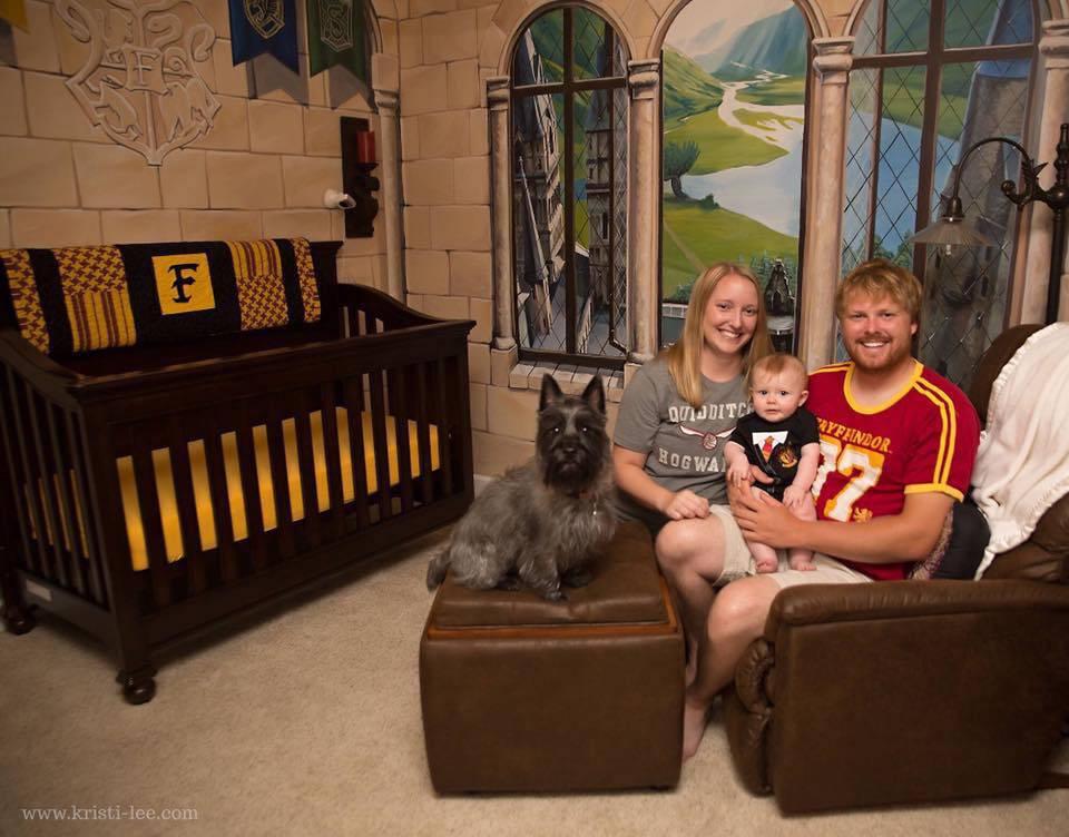 Superkreativni mama i tata: Sobu su uredili kao Hogwarts